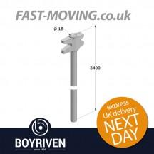 Boyriven 18mm Zinc RH Rod/Top Cam 3400mm LG