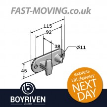 Boyriven 16mm/18mm Zinc Top Cam Keeper