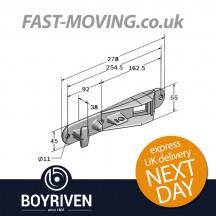 Boyriven 16/18mm Zinc Bottom Keeper