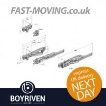 Boyriven 16mm Zinc Flush Door Locking Gear