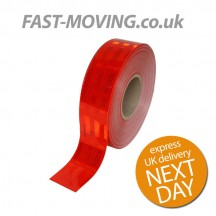 ECE104 Conspicuity Tape Red 50m x 55mm