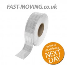 ECE104 Conspicuity Tape White 50m x 55mm