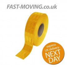 ECE104 Conspicuity Tape Yellow 50m x 55mm
