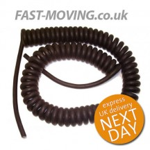 Tail Lift Control Box Cable - Coiled, Spiral & Wanderlead - 3m working length