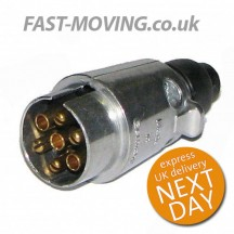Tail Lift Control Connector Plug - Metal