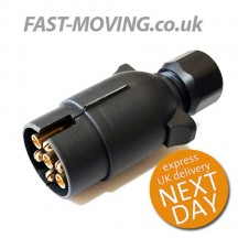 Tail Lift Control Connector Plug - Plastic 12v and 24v