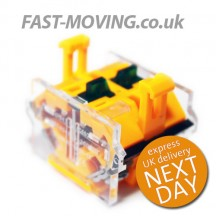 Tail Lift Control Contact Block - Yellow Snap Style