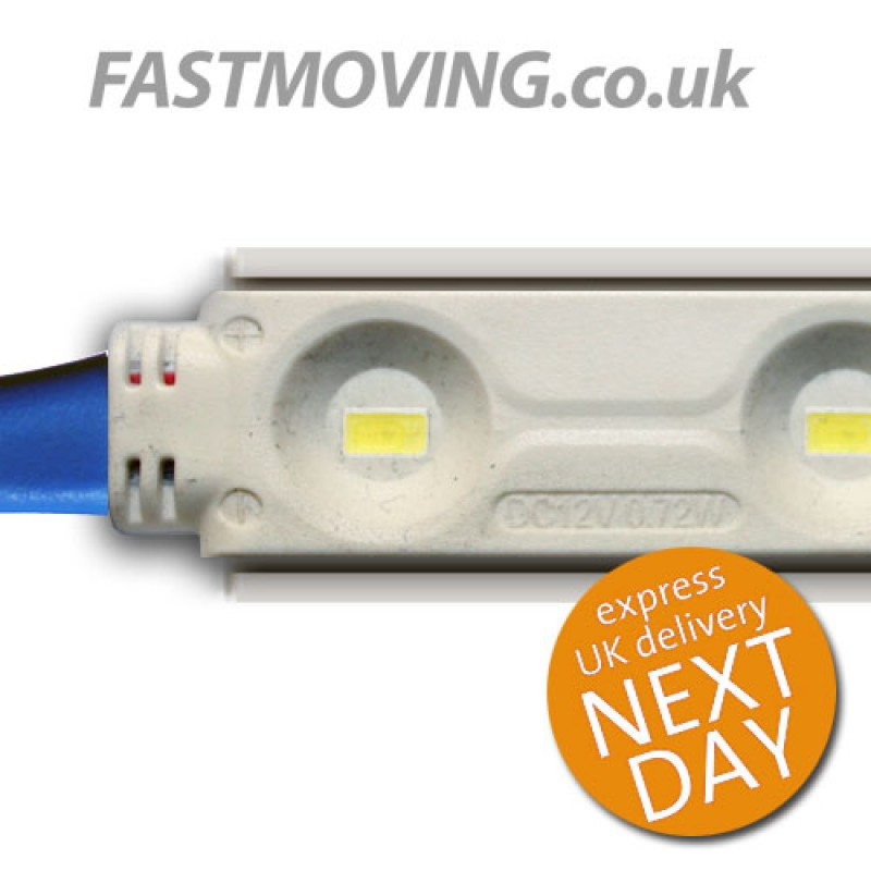 LED Modular Super Bright low watt Light Strip 12v 2.16w