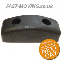 Tailboard / Tail Lift / HGV / Horsebox Rubber Buffer - 'Hovis' Style 125mm