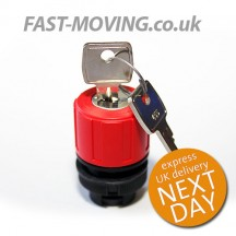 Tail Lift Control Mafelec Push Button - Key Isolator