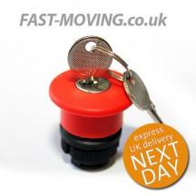 Tail Lift Control Telemecanique Push Button - Key Isolator