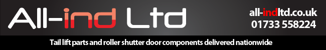 All-ind Ltd parts for tail lilfts and dry freight roller shutter doors